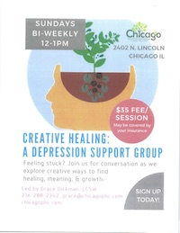 Creative Healing: Depression Support Group at Chicago Psychological Health Center