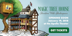 Magic Tree House: Showtime with Shakespeare Opening