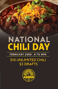 National Chili Day at Kirkwood