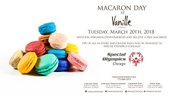 National Macaron Day at Vanille Patisserie