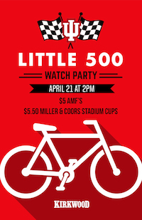 Little 500 Watch Party at Kirkwood