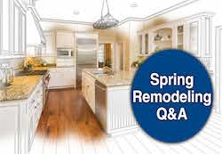 Spring Remodeling Q & A with First American Bank