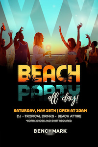 Beach Party at Benchmark