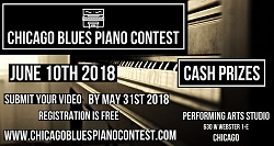 Chicago Blues Piano Contest at Performing Arts Studio