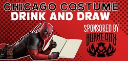 Chicago Costume Drink & Draw