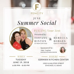 FemCity June Social at German Kitchen Center