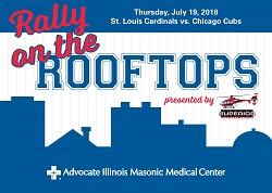 Rally on the Rooftops with Advocate Illinois Masonic Medical Center