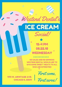 Westend Dental's Ice Cream Social