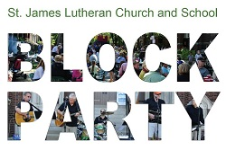 St. James Lutheran Church and School Block Party