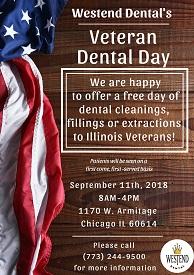 Westend Dental's Veteran Dental Day