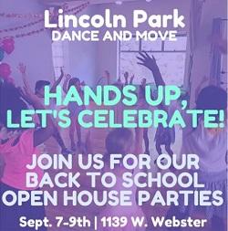 Lincoln Park Dance + Move Open House