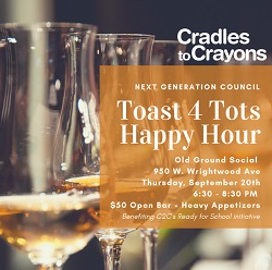Cradles to Crayons Happy Hour at Old Grounds Social