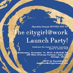 The citygirl@work Launch Party!