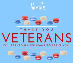 Veterans Day at Vanille