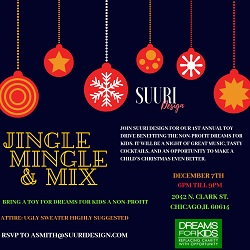 Jingle, Mingle & Mix at Suuri Design