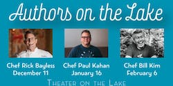 Authors on the Lake featuring Chef Paul Kahan