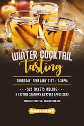 Winter Cocktail Tasting at Gaslight