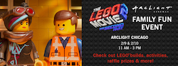 The LEGO Movie 2 Family Fun Event at ArcLight Chicago
