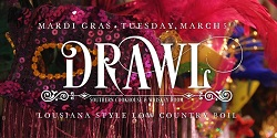 Fat Tuesday Low Country Boil at Drawl Southern Cookhouse And Whiskey Room