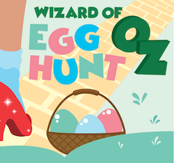 Wizard of Oz Egg Hunt at NewCity