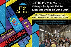 Chicago Sculpture Exhibit Kick-Off Event 2019
