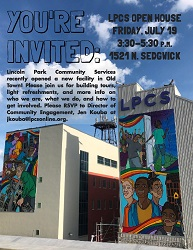 Lincoln Park Community Services Open House
