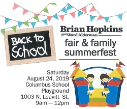 2nd Ward Back to School Fair & Family Summerfest