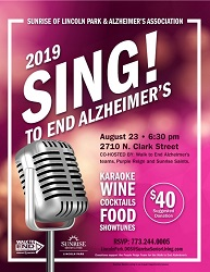 Sing to End Alzheimer's at Sunrise of Lincoln Park