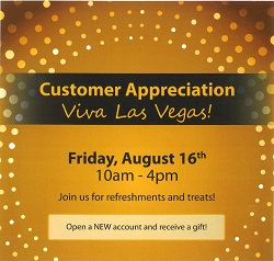 BankFinancial Customer Appreciation Day