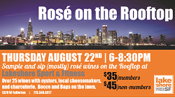 Rose on the Rooftop at Lakeshore Sport & Fitness