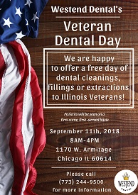 Westend Dental's Veteran Dental Day