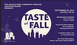 Taste of Fall 2019 with the Lincoln Park Community Services