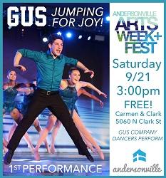 GUS Performs Andersonville Arts Week & Fest