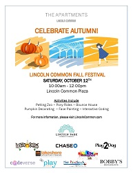 Fall Family Festival at Lincoln Common