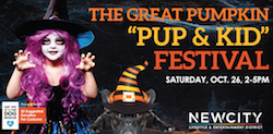 "NEWCITY hosts The Great Pumpkin ""Pup & Kid"" Festival"