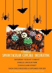 Vanille Spooktacular Cupcake Decorating
