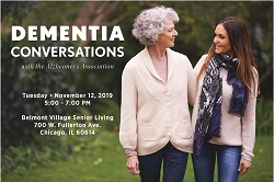 Dementia Conversations with the Alzheimer's Association and Belmont Village Senior Living