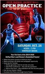 DePaul Basketball Open Practice