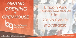 Body Gears Physical Therapy Open House and Grand Opening Celebration