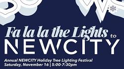 NEWCITY Tree Lighting Festival