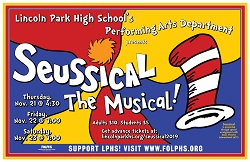 Seussical, The Musical at Lincoln Park High School