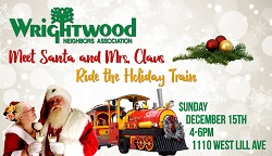 Holiday Train & Visit with Santa from Wrightwood Neighbors
