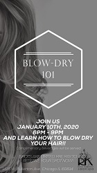 Blow-Dry 101 at Ricci Kapricci Salon