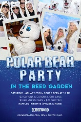 Polar Bear Party at Kirkwood