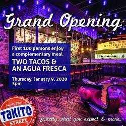 Takito Street Grand Opening