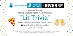 Lit Trivia with Lakeview Pantry