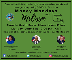 Money Mondays with City Treasurer Melissa Conyears-Ervin
