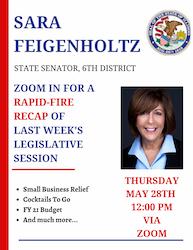 Rapid-Fire Springfield Recap with State Senator Sara Feigenholtz