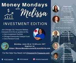 Money Mondays with City Treasurer Melissa Conyears-Ervin