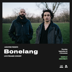 Audiotree Presents: STAGED with Bonelang live from Lincoln Hall